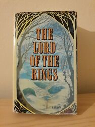 Vintage The Lord Of The Rings 1971 Book Club Associates London First Edition