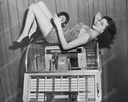 Seeburg Jukebox Model M100c From 1952 Classic 8 By 10 Reprint Photograph