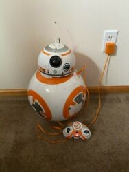 Star Wars Bb-8 Fully Interactive Hero Droid Voice Controlled W/ Remote And Charger