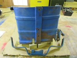 Ford 2000 Tractor Steering Gear Covering Sheet Metal-complete Set-very Rare Part