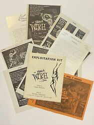 Claude Alexander / 1964 Drive-in Theater Exploitation Kit The Naked Witch