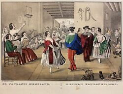 Hesiquio . Currier Iriarte / Hesiquio's Famous Lithograph / Currier And Ives El