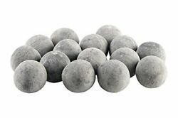 Bond Manufacturing Ceramic Fire Balls   Set Of 15   Fire Pit / Fire Table Acc