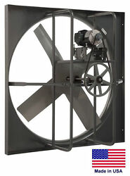 Exhaust Panel Fan - Industrial - 60 - 1.5 Hp - 115/230v - 1 Phase 28068 Cfm