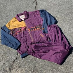 Vintage 90s Multi Colored Rugged Terrain Starter Track Suit Xl