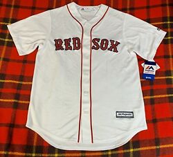 Boston Red Sox Mlb Cool Base Majestic Home Jersey Mens Size Medium New C6
