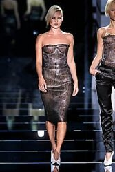 Leather Dress 40it 4-6 Us Runway Tom Ford