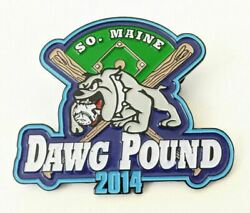 Cooperstown Dreams Park So South Maine Dawg Pound Baseball Pin Back Hof 2014 Htf