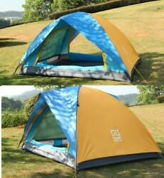 2 Person Pop Up Outdoor Tent Camping Backpacking Tents Shelter Beach Waterproof $35.90