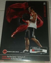 Les Mills Body Pump Release 70 Dvd Cd Notes