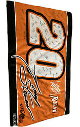 Tony Stewart Autographed Flag 36x60 In