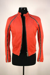 Dsquared2 Red Jacket Zip 48it M