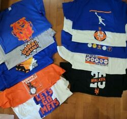 Lot Of 10 Mets Xl Mens Shirts Assorted Colors And Designs Tshirt Friday Citi