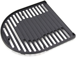 Cast Iron Grill Grate Half Camping Replacement For Coleman Roadtrip Lx Lxe Lxx