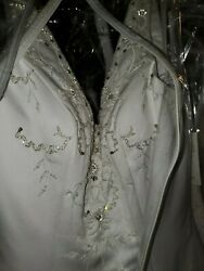 New Without Tags Eden Bridals White Ball Gown Wedding Dress Size 6