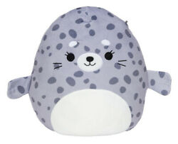 Squishmallows Kellytoy 16 Isis The Spotted Seal Stuffed Plush Animal Original