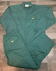 Masters Augusta National Golf Club Green Jacket W/ Pants Men Large 2 Piece Full
