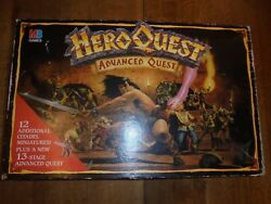 Heroquest Advanced Quest Master Edition Board Game Hero Quest Painted Complete