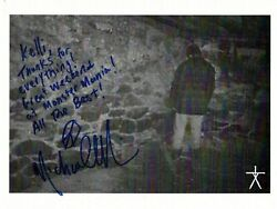 Blair Witch Project Michael Williams Autograph Signed Photo-horror Monster
