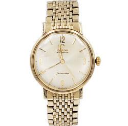Pre-owned Vintage Omega Seamaster Yellow Gold-plated Men's Watch 1968