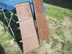 1932 Ford Deuce Steel Running Boards 32 Coupe 3 Window Coupe 5 W B Trog Rat Rod