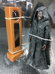 Doctor Who Figure 5 Keeper Of Traken Decayed Master + Grandfather Clock Tardis