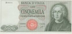P98a Italy 5000 Lire Dated 1964 In Extremely Fine To Near Mint Condition.