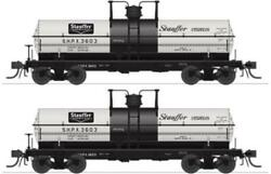 Broadway Limited 6467 Ho, 6k Gallon Tank Car, Stauffer Chemical, Shpx, 2 Pack