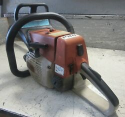Vintage Collectible Stihl 026 Pro Chainsaw With 20 Bar