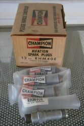 Champion Rhm40e Spark Plugs Pack Of 4 New Old Stock
