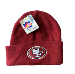Vintage San Francisco 49ers Beanie Winter Hat By Twins Rare 90s Nfl