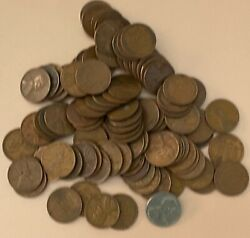 Wheat Pennies Mid 1900's-1958   Un-searched 22 bags Avail.   Estate Listing