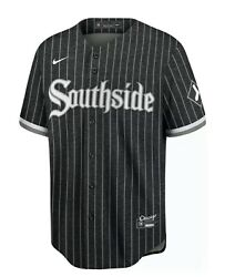 2021 Nike Blank City Connect Chicago White Sox Jersey Southside S Authentic
