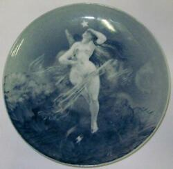 Bing And Grondahl Unique Carl Locher Plate With Motif Of The Birth Of Venus