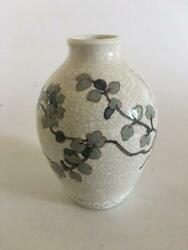 Bing And Grondahl Unique Vase By Effie Hegermann-lindencrone From 1937