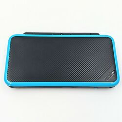Nintendo New 2ds Xl Ll English Turquoise W/ 128gb Sd / Charger / Games A+