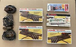 Lot Of Lionel Train 027 Gauge Switch Sets, Operating And Uncoupling Tracks W/boxes