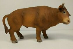 Schleich Rodeo Bull Brown #13816 Retired 2015 Farm Animal Educational Toy