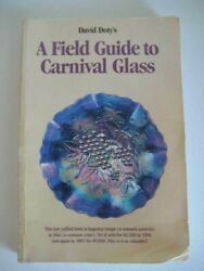 Field Guide To Carnival Glass David Doty's 1998 Signed