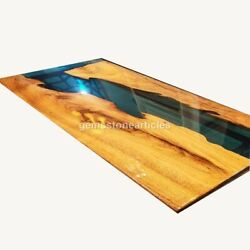 Fashion Ocean Wave Resin Table Spot-resin Wrap-epoxy Resin Table Top Furniture