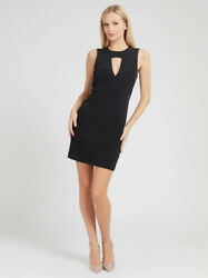 Guess - Suit Sheath Dress W1gk0s Wb4h2 Jblk Coll. Spring Summer 2021
