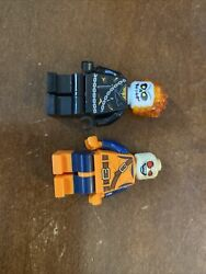 Lego Minifigure Ghost Rider And Green Goblin Super Heroes