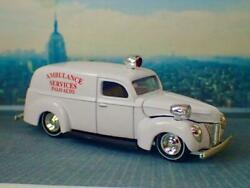 1940's Ford Ambulance Services Panel Wagon 1/64 Scale Limited Edition N