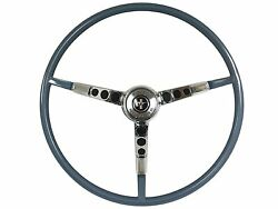 1964 1/2 Ford Mustang Reproduction Blue Steering Wheel Kit | Generator Only