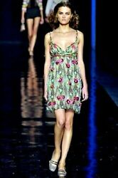 Missoni Ranway 38 It S, 2us Corset Rare Embroidered Sexi Dress
