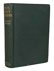 1926 Hints About Investments Hartley Withers Signed Wall Street Stock Market