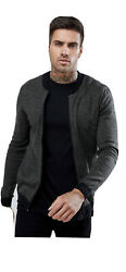 Asos Design Men's Muscle Fit Knitted Bomber Jacket In Khaki Twist