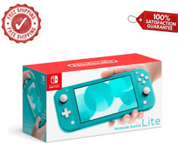 Nintendo Switch Lite Turquoise - Handheld Video Game Console Device Tablet Ac