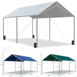 Quictent Heavy Duty Car Shelter Garage 10'x20' Carport Canopy Shed Boat Cover Us