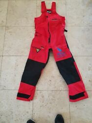 Musto Hpx Trousers Medium Team Brunel Volvo Ocean Race Patched